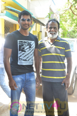 Kaththi Sandai Tamil Movie Launch Latest Exclusive Photos