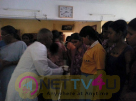 llayaraja rescue operation today at little flower school for blind