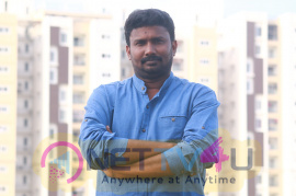 Lyricist Mohan Rajan Press Release New Images