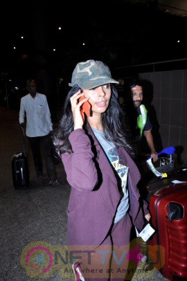 Mallika Sherawat & Mahesh Kothare & Many Celebs Spotted At Airport Event Stills Hindi Gallery