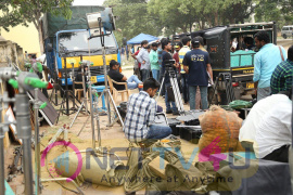 Mana Oori Ramayanam Telugu Movie Working Stills