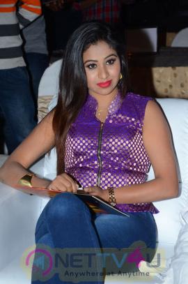 Manali Rathod Hot Sizzling Photos At Telangana Premier League Logo Launch Telugu Gallery