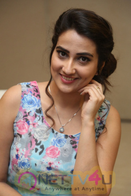 Manjusha Lovely Pics At Remo Telugu Movie First Look  Launch Telugu Gallery