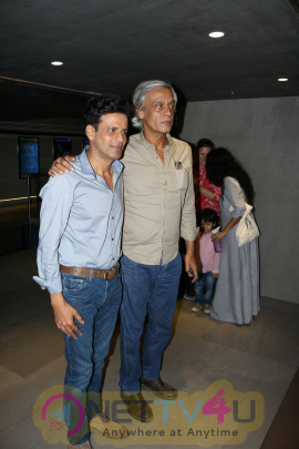 Manoj Bajpayee At Special Screening Of Film Saat Uchakkey Stunning Photos