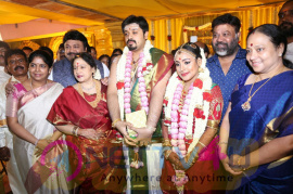 Music Director Amresh Ganesh And Keerthi Marriage Function Photos Tamil Gallery