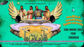 maiem tamil movie makka makkosa senisamosa song making poster