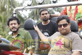 Malayalam Movie Gundalpetta 151 km Working Stills Malayalam Gallery