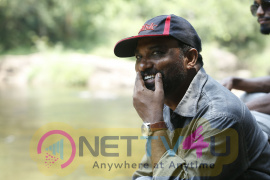 Malayalam Movie Gundalpetta 151 km Working Stills Malayalam Gallery