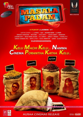 masala padam movie posters first look