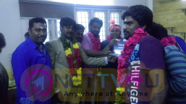 Mayavan Movie Press Release And Pooja Stills Tamil Gallery