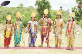 movie stills and press release of dana veera soora karna movie