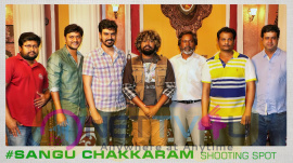 Mr.S.R.Prabhu In Sangu Chakkaram Shooting Spot Exclusive