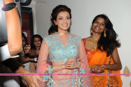 muktah art studio inaguration by kajal stills 22
