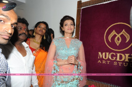 muktah art studio inaguration by kajal stills 23
