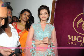 muktah art studio inaguration by kajal stills 24