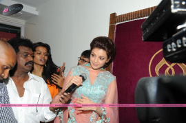 muktah art studio inaguration by kajal stills 25