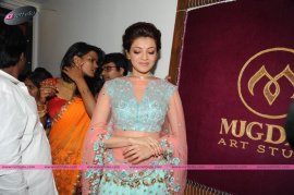 muktah art studio inaguration by kajal stills 27