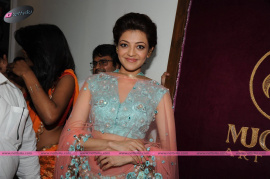 muktah art studio inaguration by kajal stills 28
