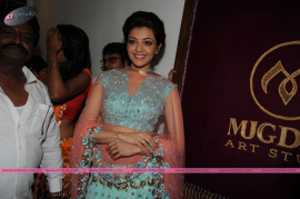 muktah art studio inaguration by kajal stills 29