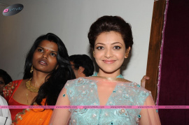 muktah art studio inaguration by kajal stills 32