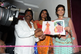 muktah art studio inaguration by kajal stills 35