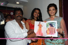 muktah art studio inaguration by kajal stills 37