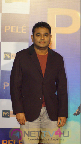 Music Director A. R. Rahman At Trailer & Song Launch Of Film PELE Good-looking Photos Hindi Gallery