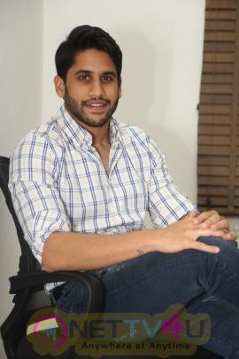 Naga Chaitanya Exclusive Interview Stills At Sahasam Swasaga Sagipo Movie