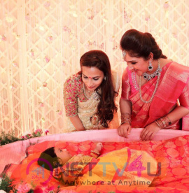 Naming & Cradle Ceremony Of Baby Girl Rupikaa Held At Park Hyatt Photos Tamil Gallery