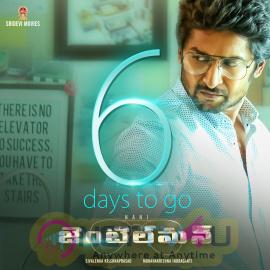 Nani In Gentleman Telugu Movie 6 Days Go To Attractive Poster Telugu Gallery