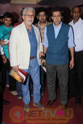 Naseeruddin Shah, Neville Tuli At Naseer Saab Masterclass At Osianama Images Hindi Gallery