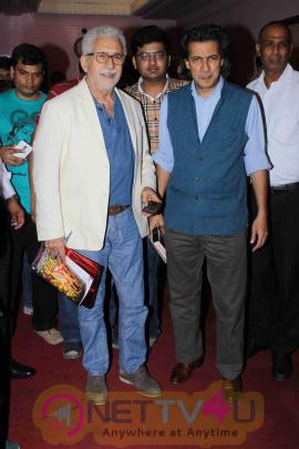 Naseeruddin Shah, Neville Tuli At Naseer Saab Masterclass At Osianama Images