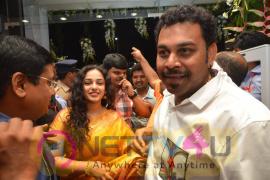 Nitya Menen At Kalamandir 25th Store Opening In Vishakapatnam Photos