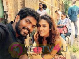 naanum rowdy thaan tamil movie working stills