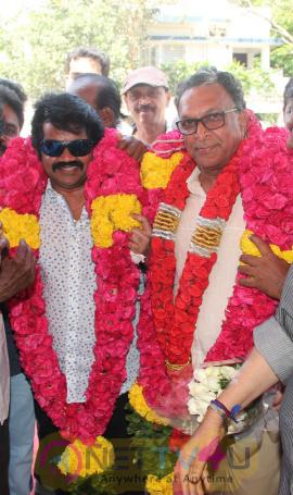 Nadigar Sangam Leaders Nassar & J.K.Rithish Birthday Celebration Stills Tamil Gallery