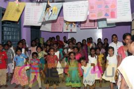 Namitha Celebrates Her Birthday With Gratification Photos Tamil Gallery