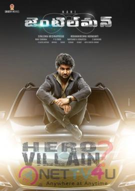 Nani Gentleman Telugu Movie First Look Poster  Telugu Gallery