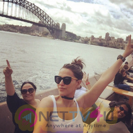 Neha Dhupia Workcation In Australia With Her Family Press Release Photos Hindi Gallery