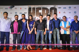 new bollywood movie hero trailer launch stills