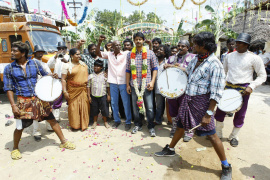Srikanth's Om Shanthi Om Movie stills on Location