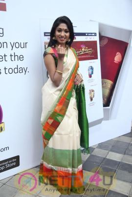 Palam Silks App Launch By Jayashree Ravi Gorgeous Stills Tamil Gallery