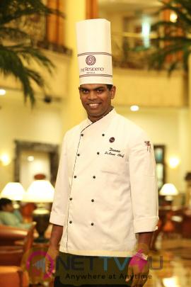 Parthiban And Chef Damu Launch Chef Deena Dayalan's New Menu At Southern Aromas  Tamil Gallery
