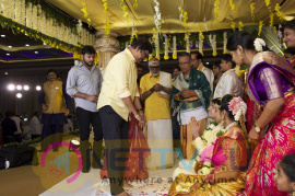 Prabhu Teju Weds Varsha Wedding Reception Photos