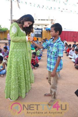 Pre Rakhi Celebrations At Child Haven International Home For Children N Women Event Stills Telugu Gallery