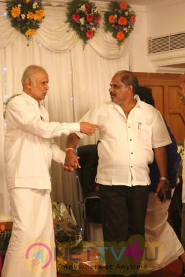 Producer Kalaignanam Grandson Jayakumar Wedding Reception Exclusive Photos Tamil Gallery
