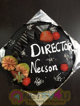 Photo Of Oru Naal Koothu Director Nelson Venkatesan Celebrates His Birthday Along With Producer
