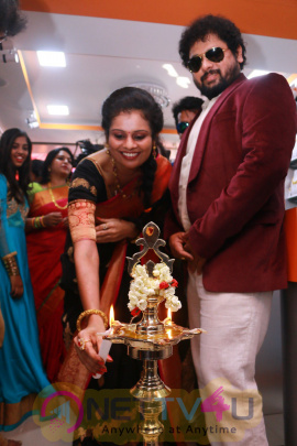 Photos Of GR Muthu Maaligai Fashion Jewellery Showroom Inauguration Held At Chennai