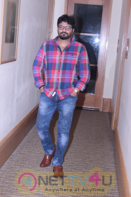 Photos Of Interview With Singer Babul Supriyo For His New Single Dream Girl
