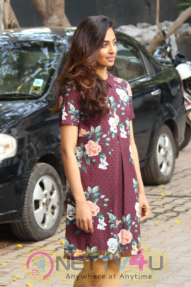 Photos Of Radhika Apte Spotted Promoting Film Phobia Tamil Gallery