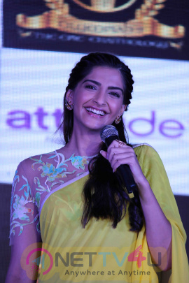 Photos Of Sonam Kapoor Promotes Neerja Hindi Gallery